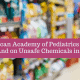 Pediatrics Academy Urges Improving Food Safety. Finally!