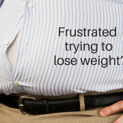 frustrated trying to lose weight