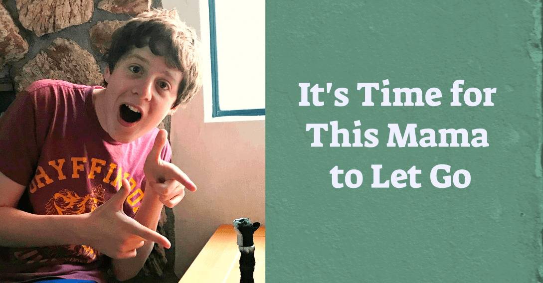 My Kid's Tics Don't Bug Him. It's Time for This Mama to Let Go (2)