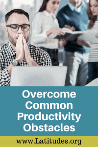 productivity obstacles