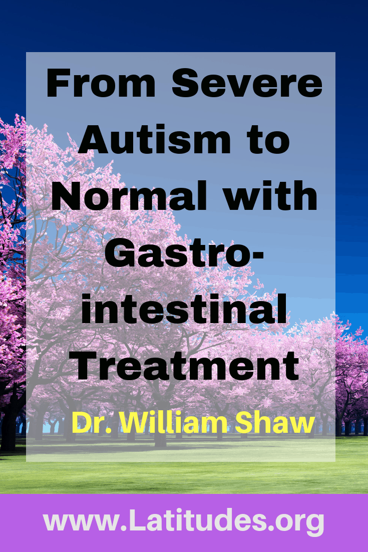 From severe autism to normal