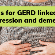 GERD medications dementia depression