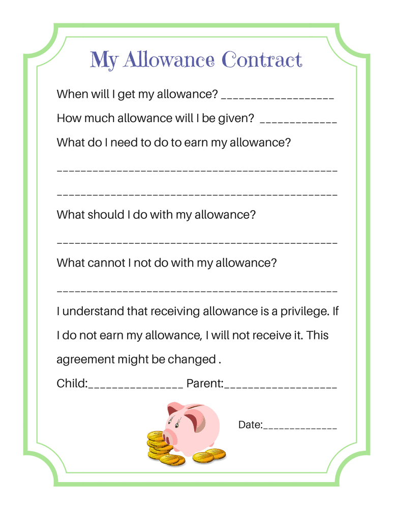 My Allowance Contract