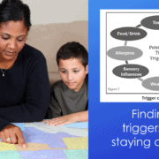 tic triggers while home