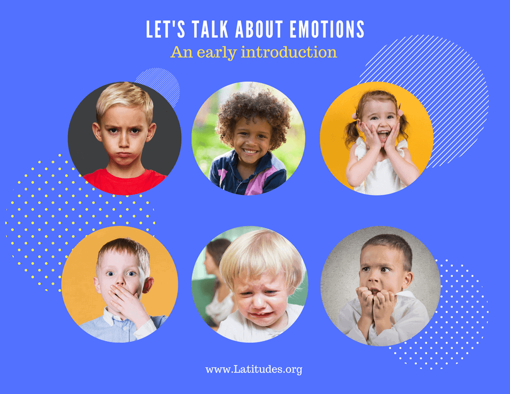 Let's Talk about Emotions Feelings Chart