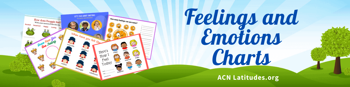 Feelings and Emotions Charts Header