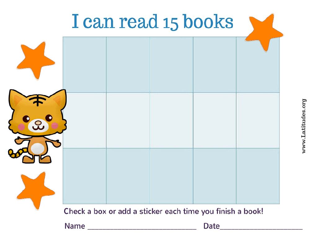 Fun Fox I Can Read 15 Books (Fillable)