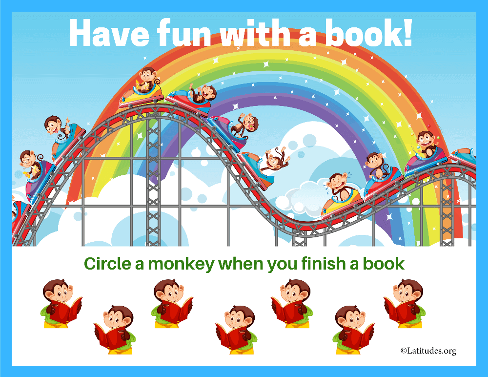 Have Fun with A Book Reading Chart