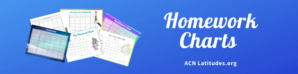 Homework Charts Header Teachers