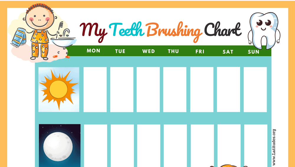 I Brushed My Teeth This Week (Fillable)
