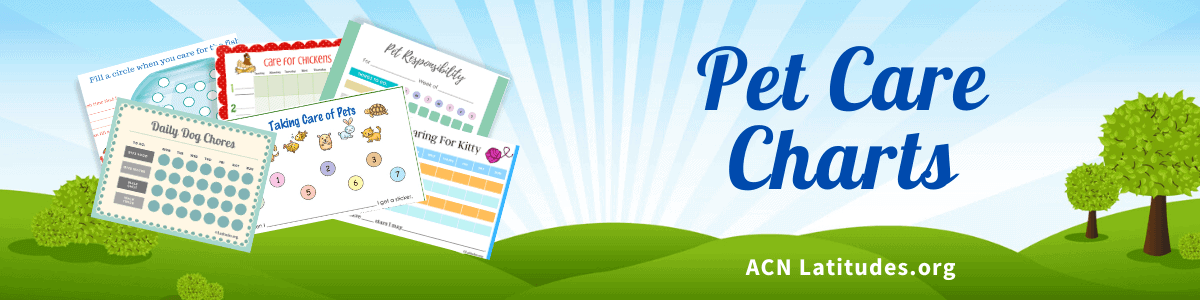 Pet Care Charts Header