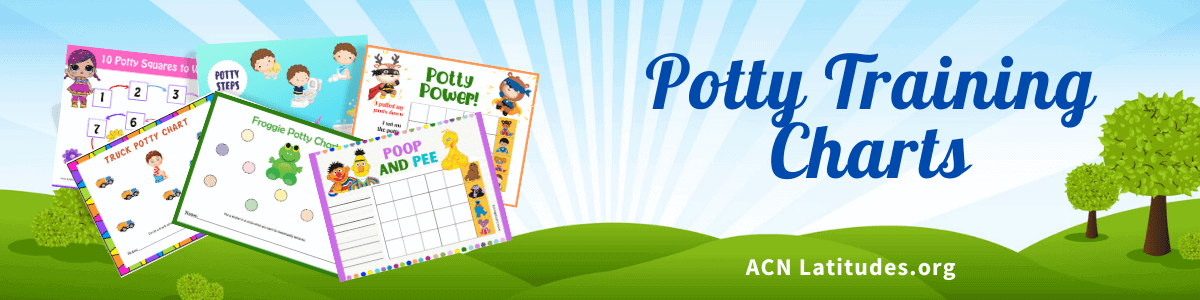 Potty Training Charts Header