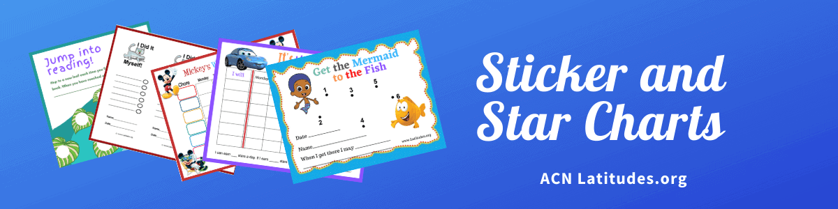 Sticker and Star Charts Header Teachers