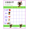 Doggie I Did It Weekly PreK Behavior Chart