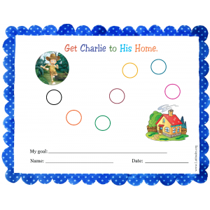 Get Charlie to Home Sticker Behavior Chart (Fillable)