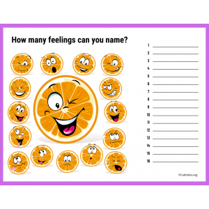 How Many Feelings Can You Name (Fillable)