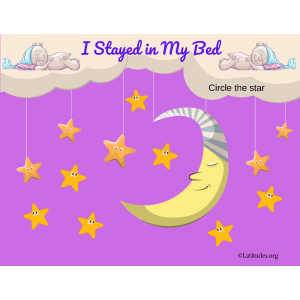 I Stayed in My Bed Stars and Moon Behavior Chart