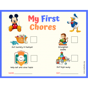 Mickey and Donald My First Chores Toddler Chart.pdf